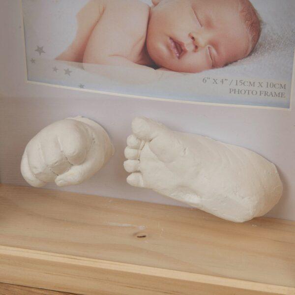 3D käe ja jalajäljend