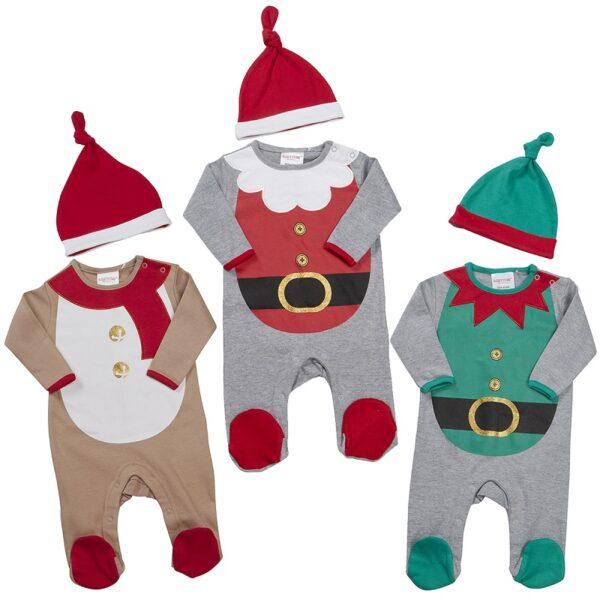 Jõulukomplekt beebile 2-osaline